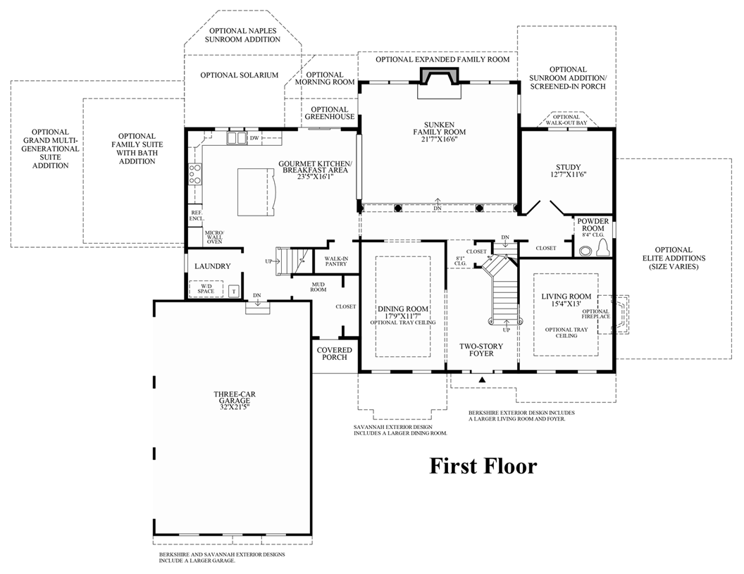 mountain view at hunterdon the langley ii home design view floor plans