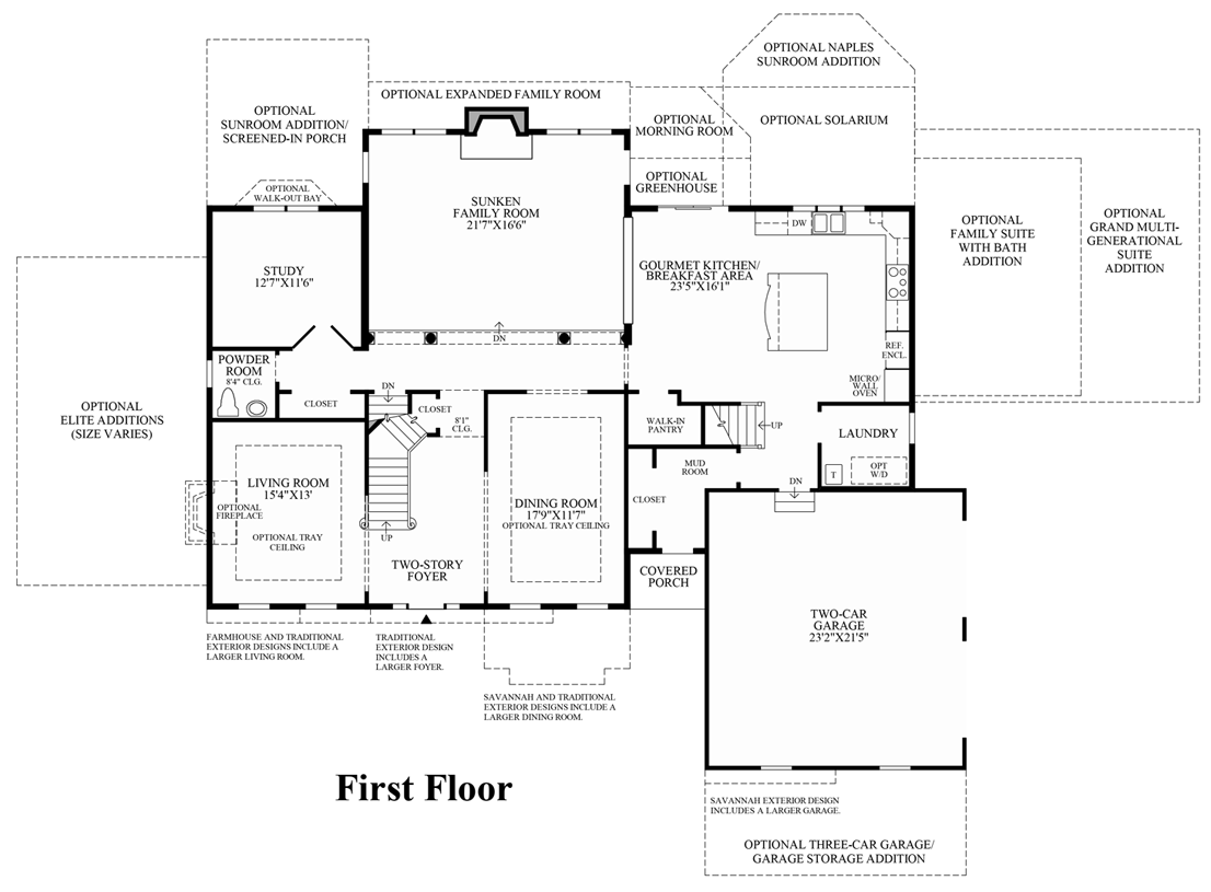 new britain woods the harding home design view floor plans