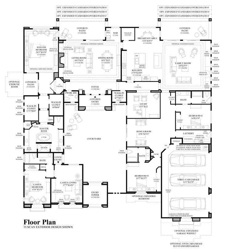 Scottsdale az new homes for sale turquesa for Arizona floor plans