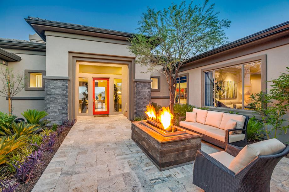 Saguaro estates the cholla home design for Az home plans