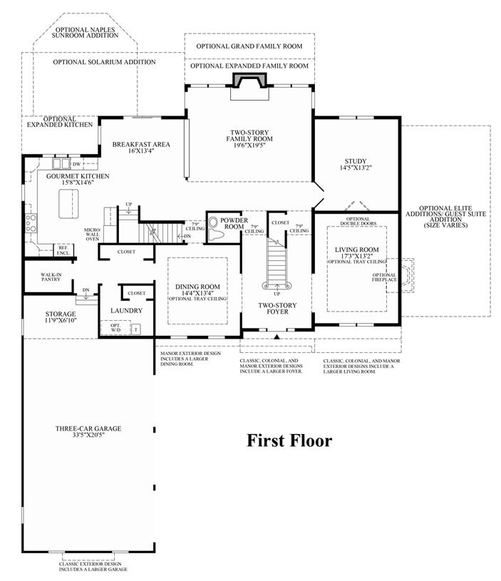 Claridge - 1st Floor