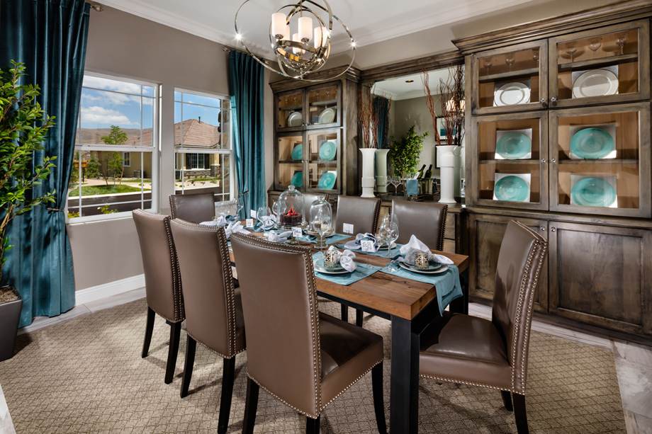 Reno nv active adult community regency at damonte ranch for Regency dining room