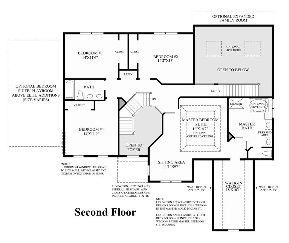bowes creek country club the masters collection the harvard view floor plans