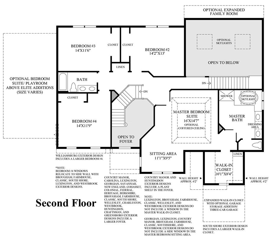 2nd Floor Floor Plan