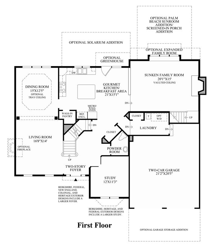 Columbia - 1st Floor