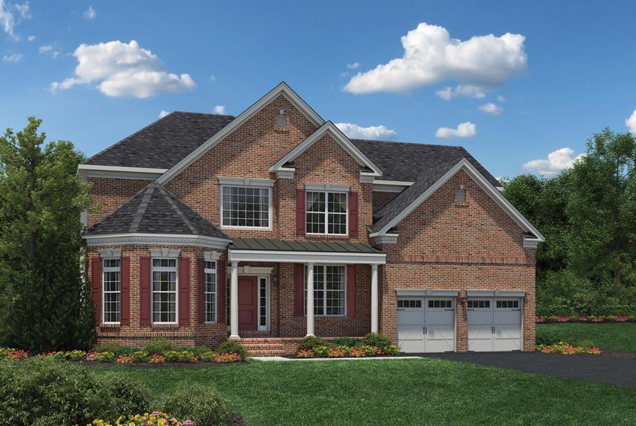 Dominion Homes Oakhurst Floor Plan