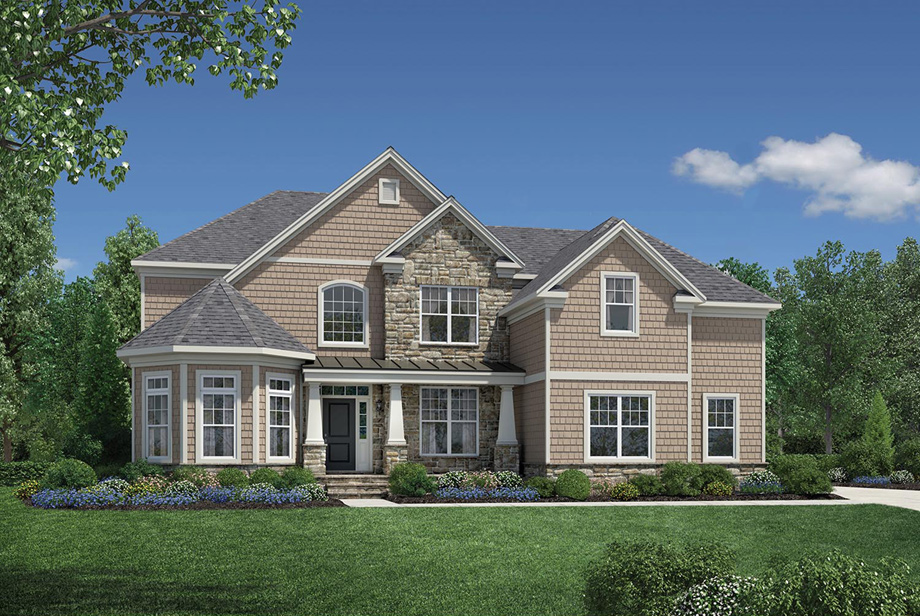 Columbia II   The South Shore. Estates at Bamm Hollow   The Columbia II Home Design