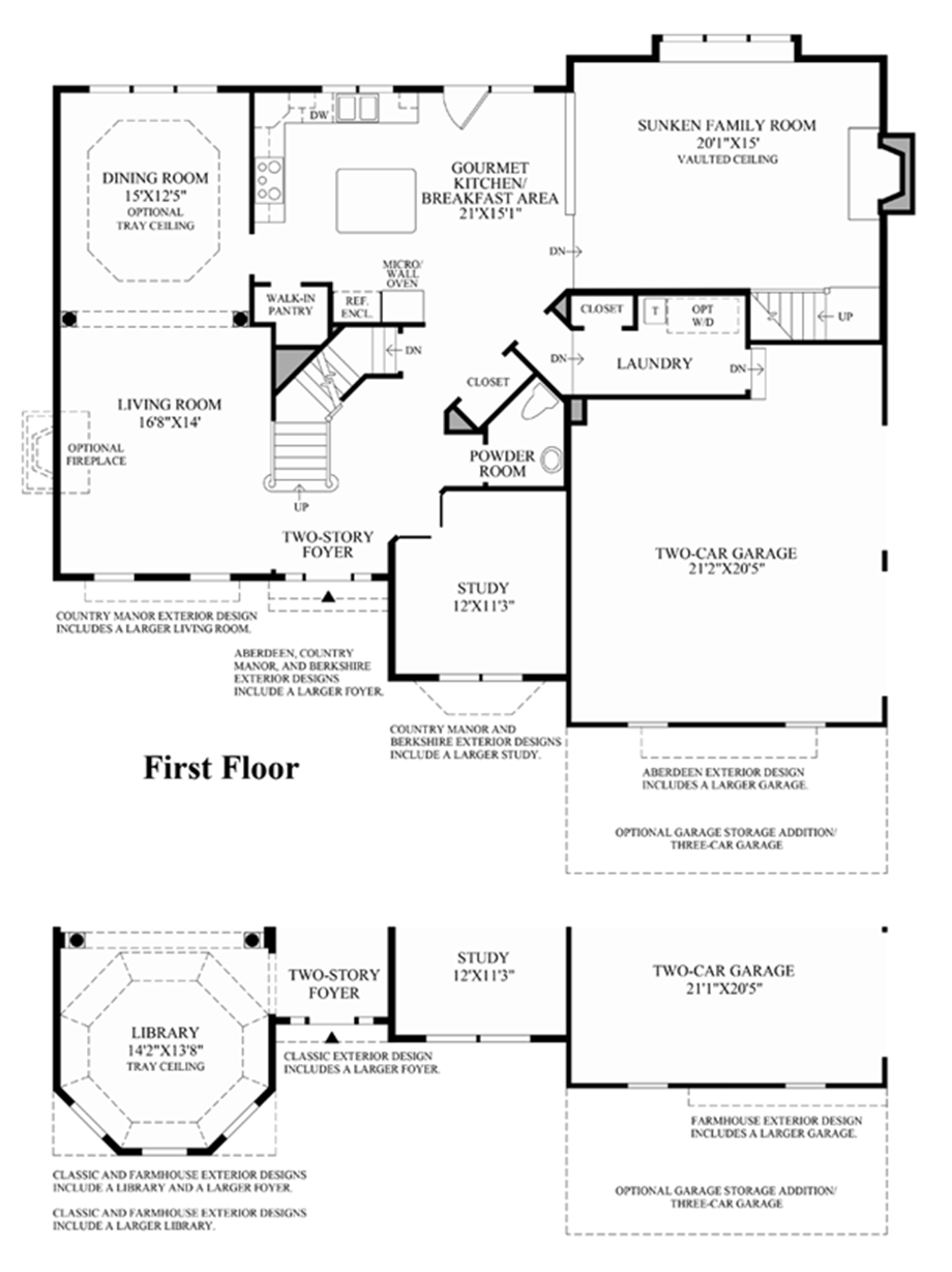 1st Floro Floor Plan
