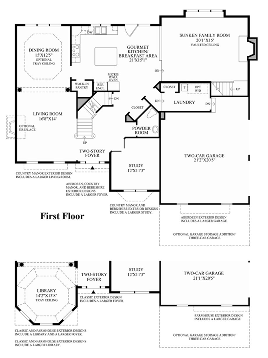1st Floro Floor Plan