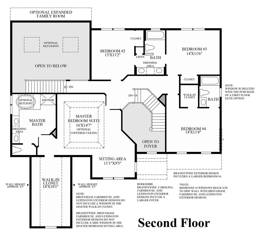 Lenah Mill The Executives The Columbia II Home Design