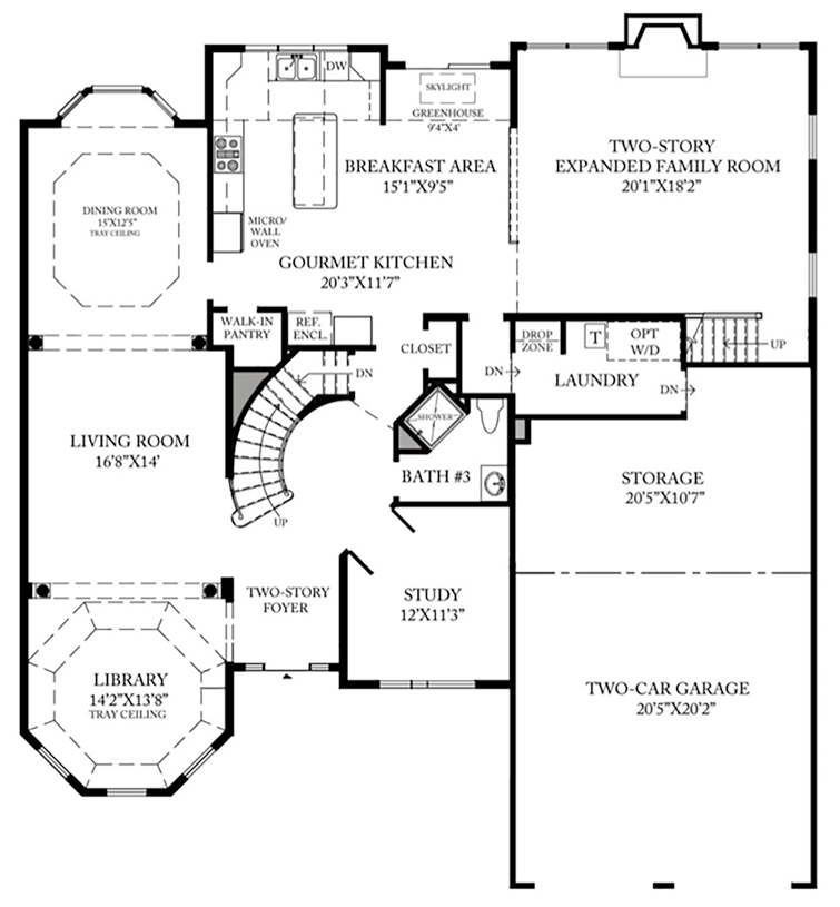 Columbia II Lexington - 1st Floor