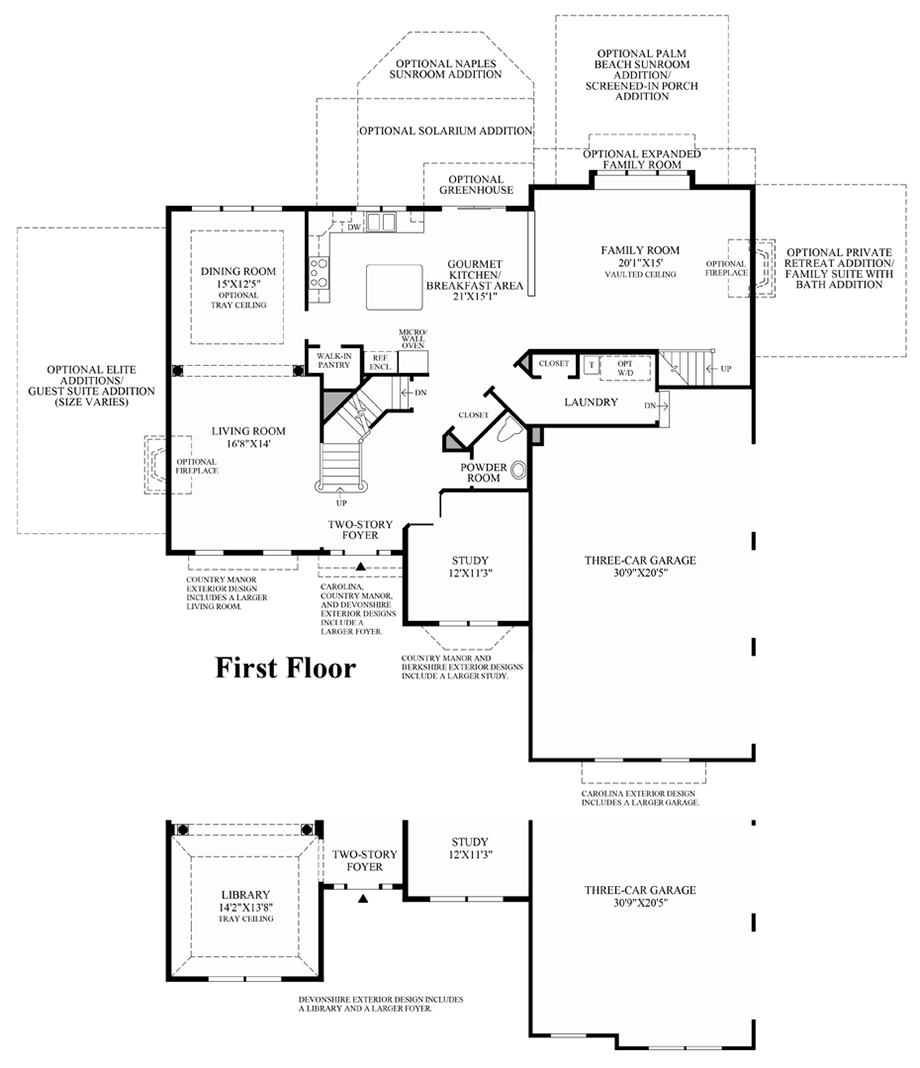 1st Floor Floor Plan