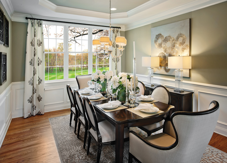 Weyhill estates at upper saucon the columbia ii home design for Comedores homecenter