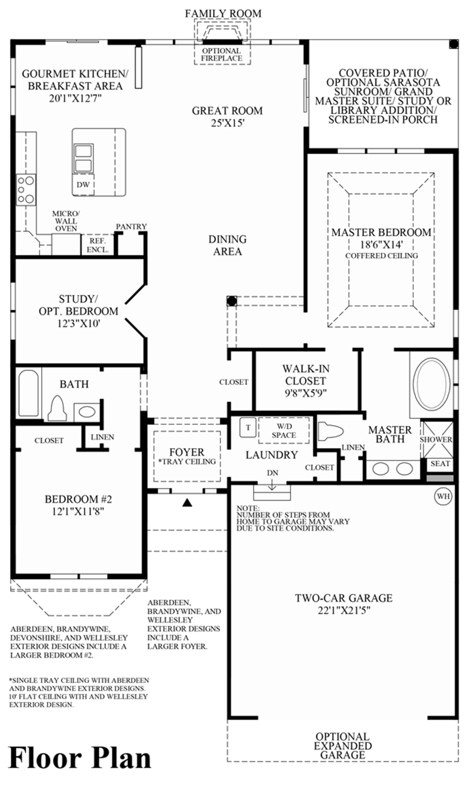 Master Bedroom Suite Floor Plans Additions Regency At Palisades The Corsica Home Design