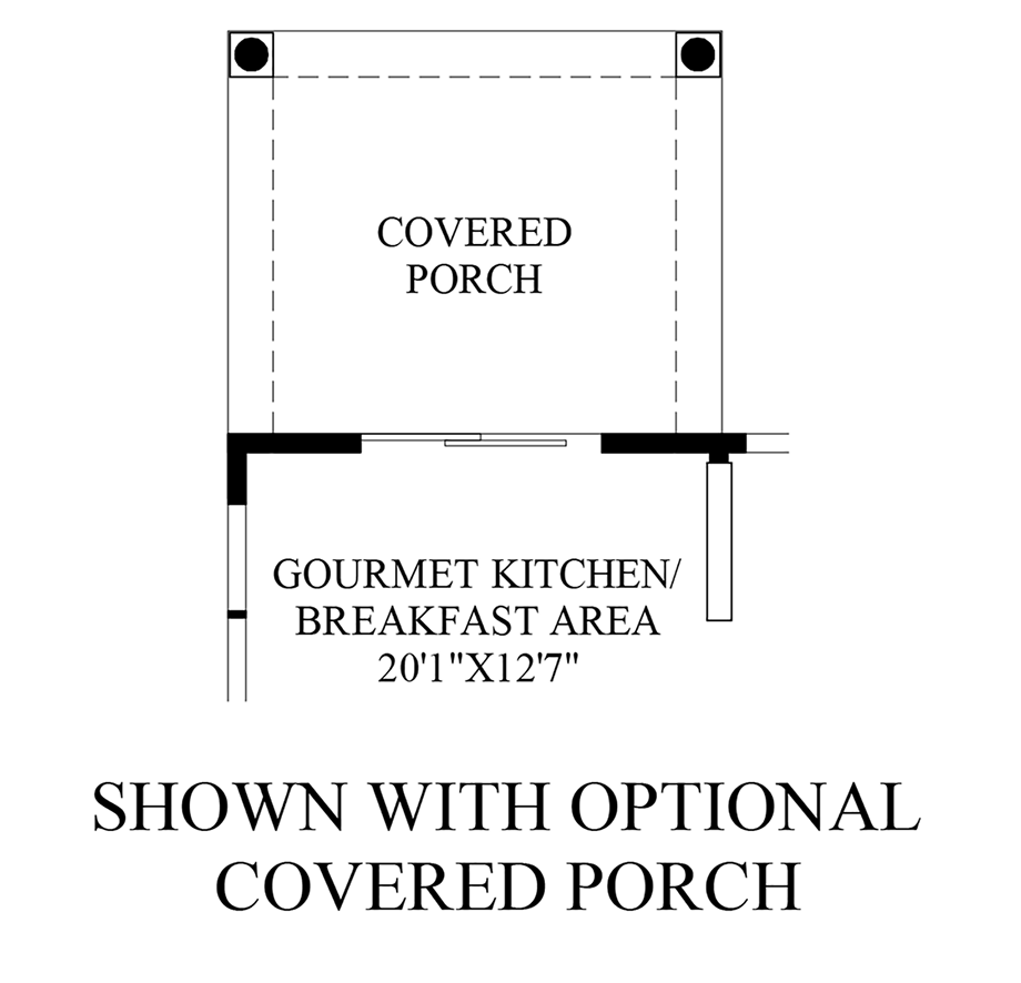 Optional Covered Porch
