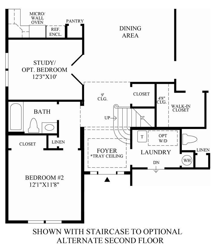 Regency At White Oak Creek The Bowan Home Design