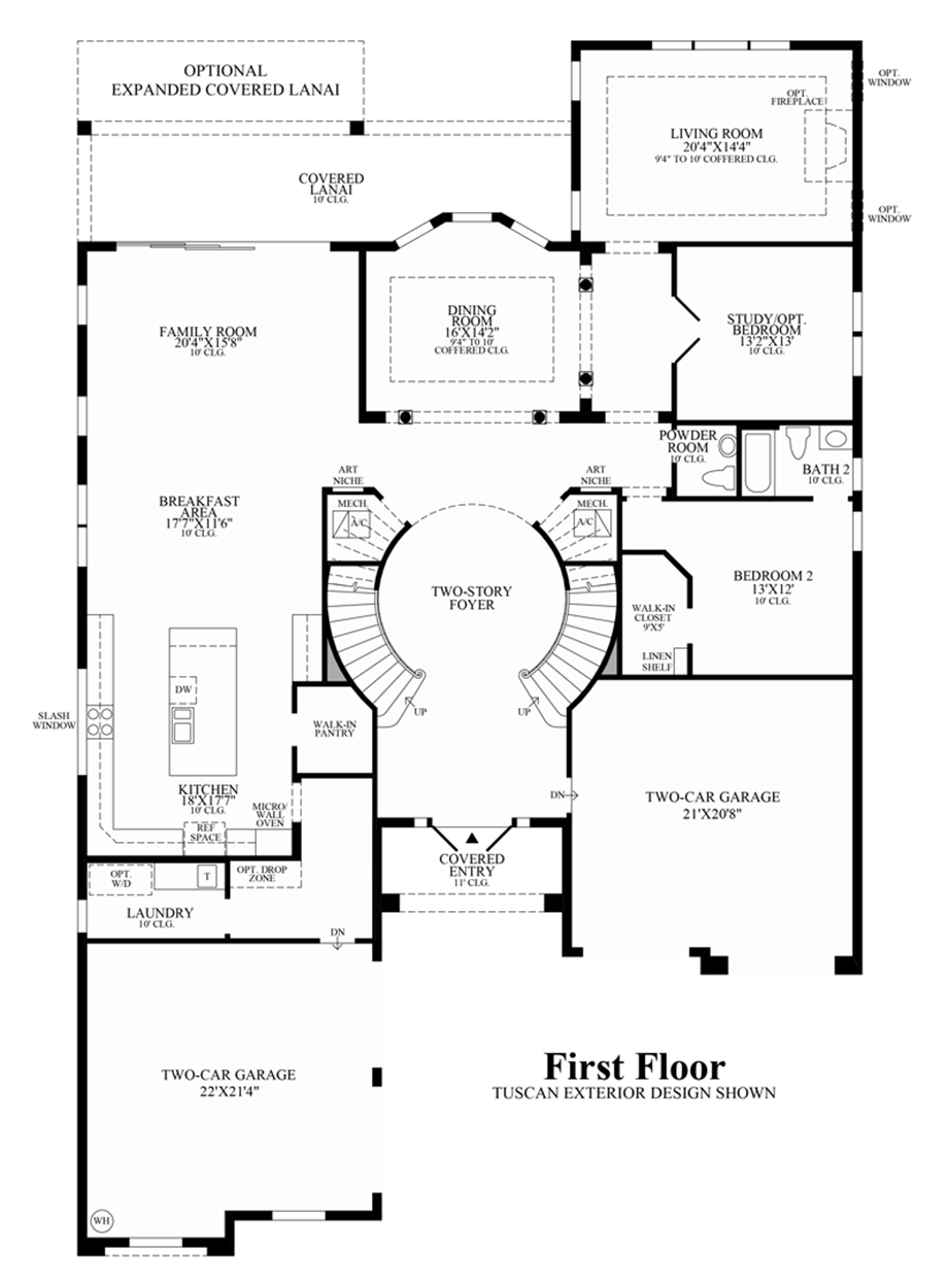 Parkland golf and country club by toll brothers heritage for Golf course house plans