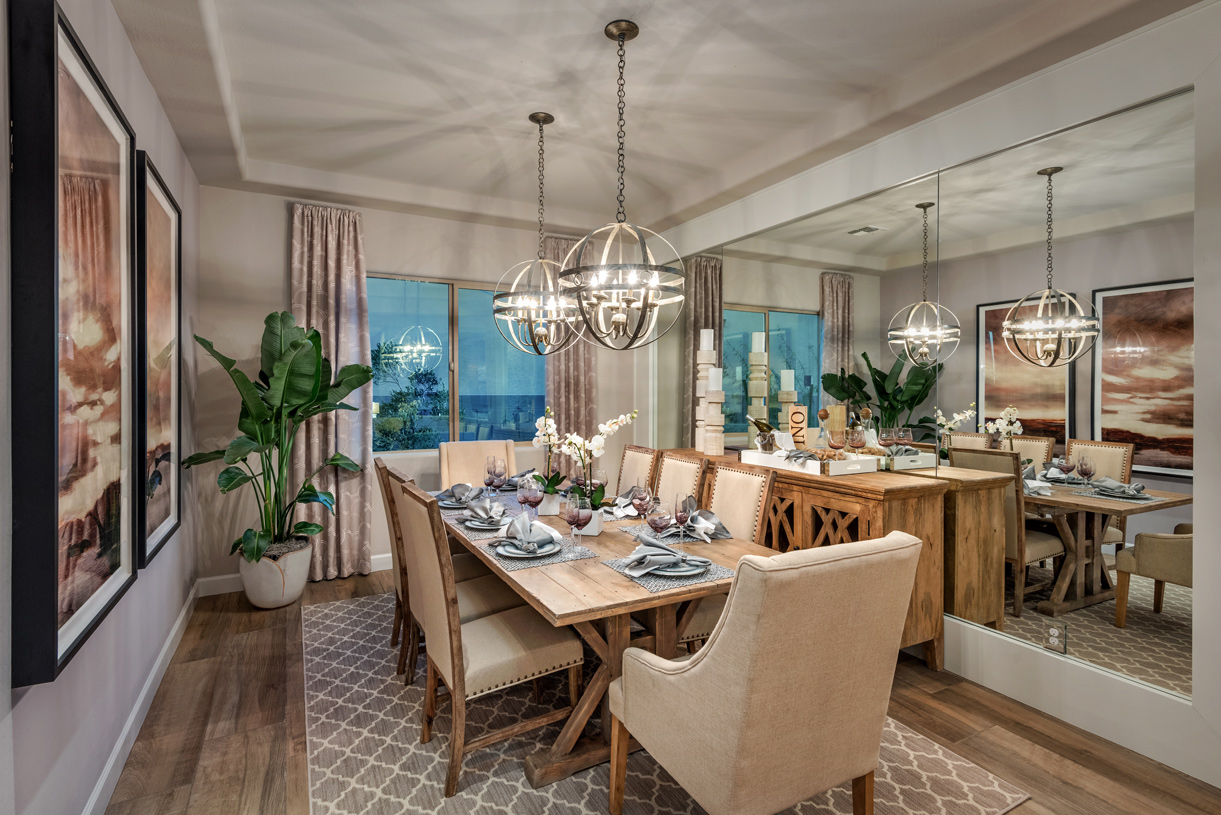 Dining rooms for formal dinner parties