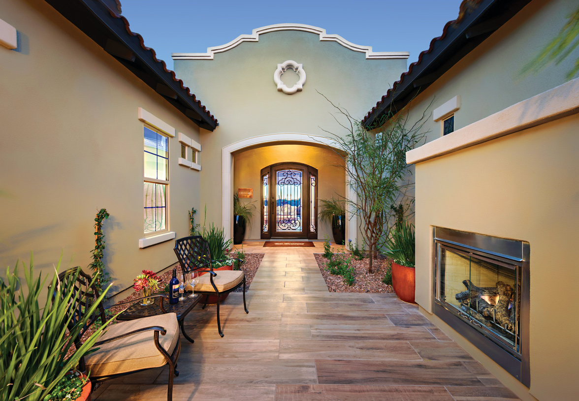 Beautiful front porches for curb appeal