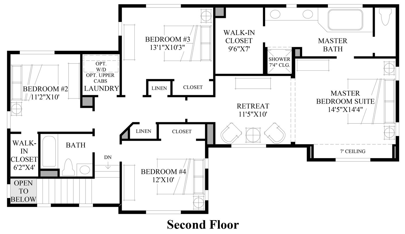 timber creek the courtyards the liberty home design view floor plans