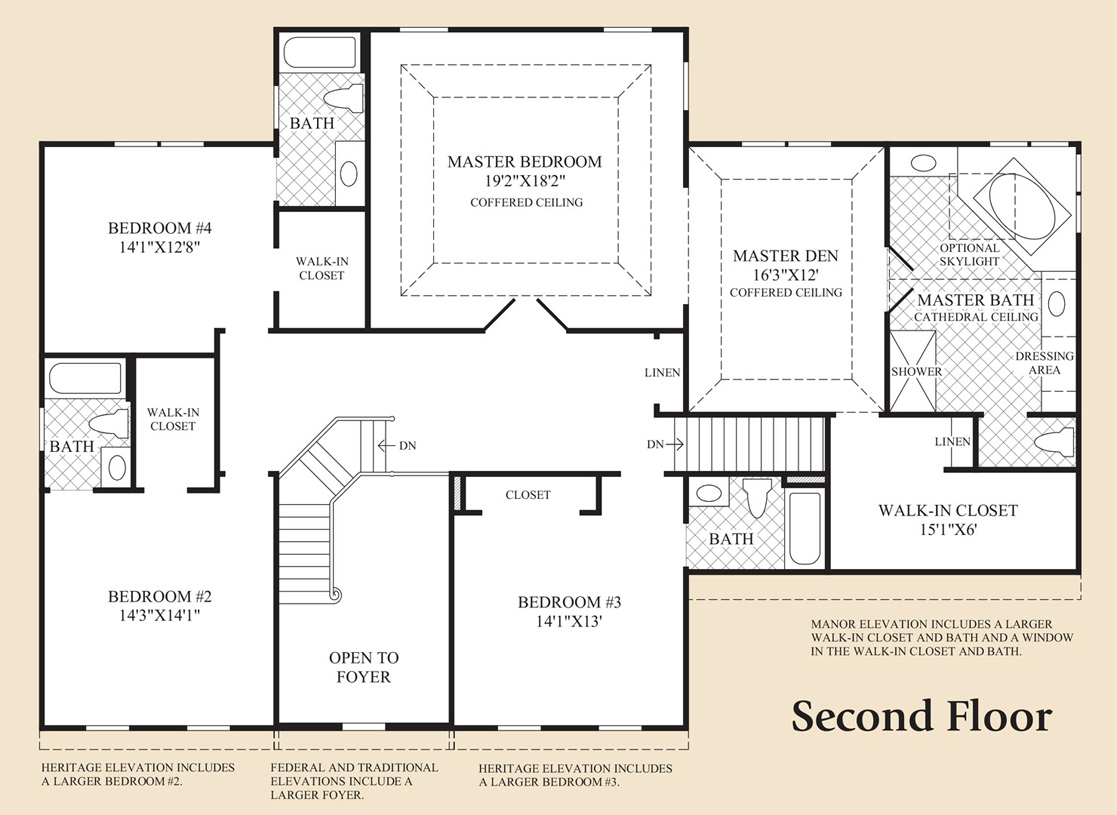 Monmouth chase the columbia ii home design for Coventry federal plans