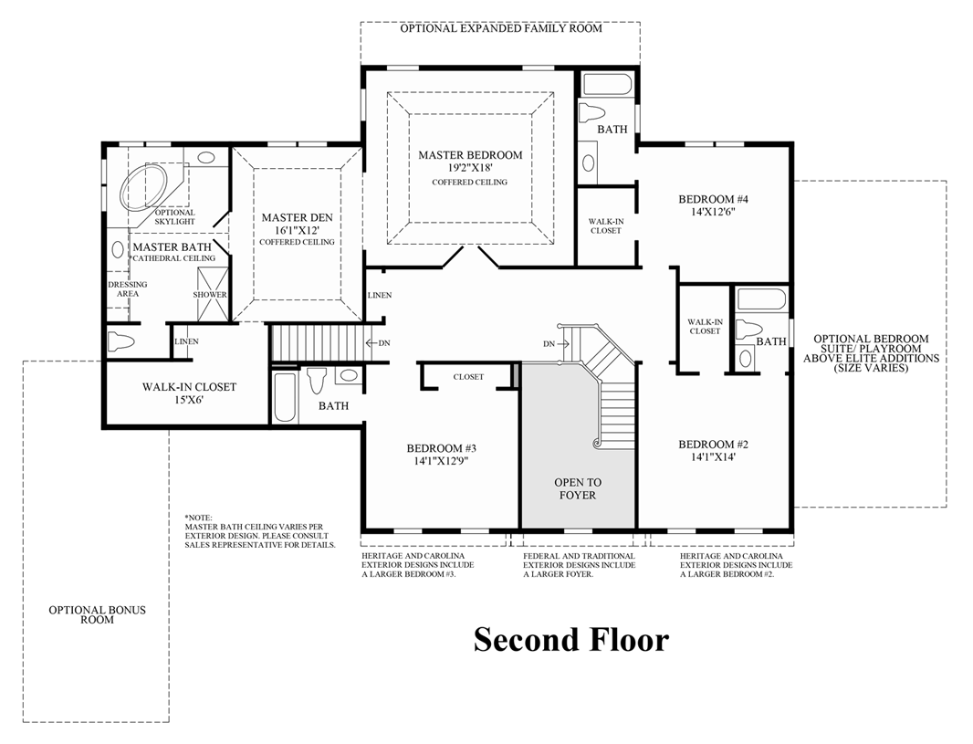 Shenstone reserve the hampton home design for Coventry homes floor plans