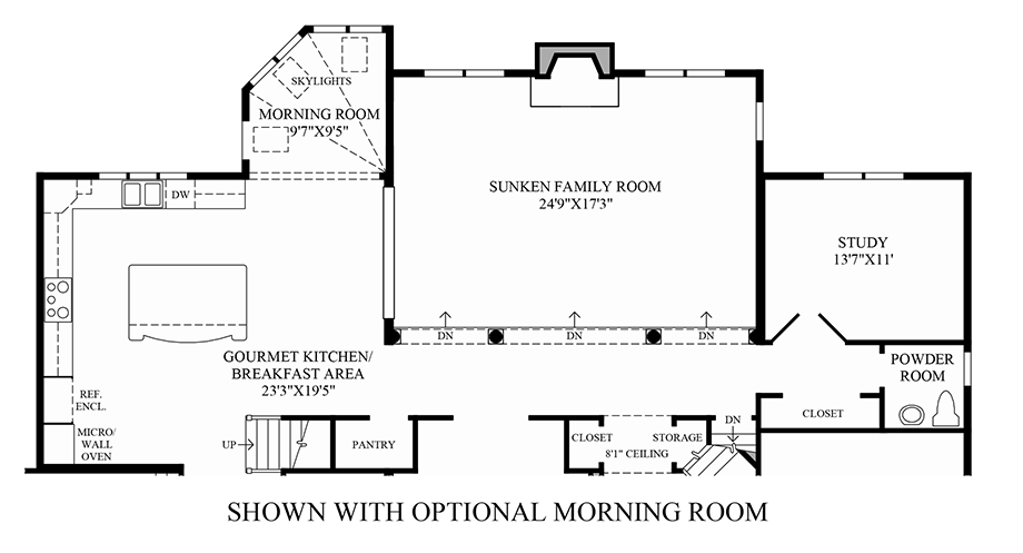 Toll Brothers Floor Plans Virginia: The Coventry Home Design