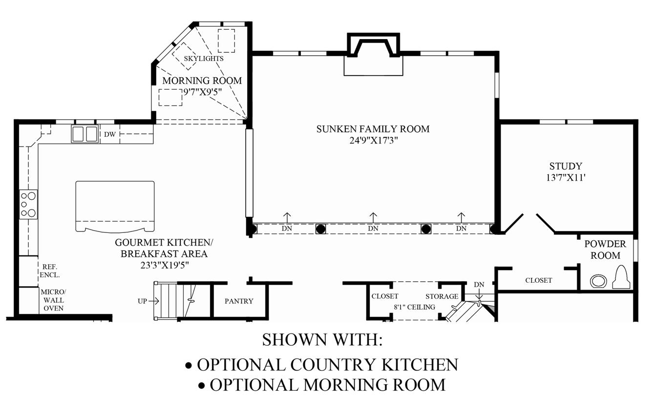 Shenstone reserve the hampton home design for Coventry homes floor plans