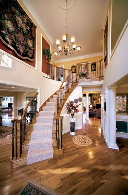 New luxury homes for sale in leesburg va shenstone reserve for Coventry federal plans