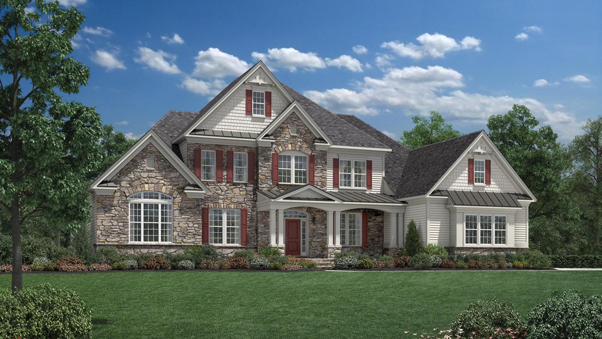Estates At Mill Creek Ridge The Covington Home Design