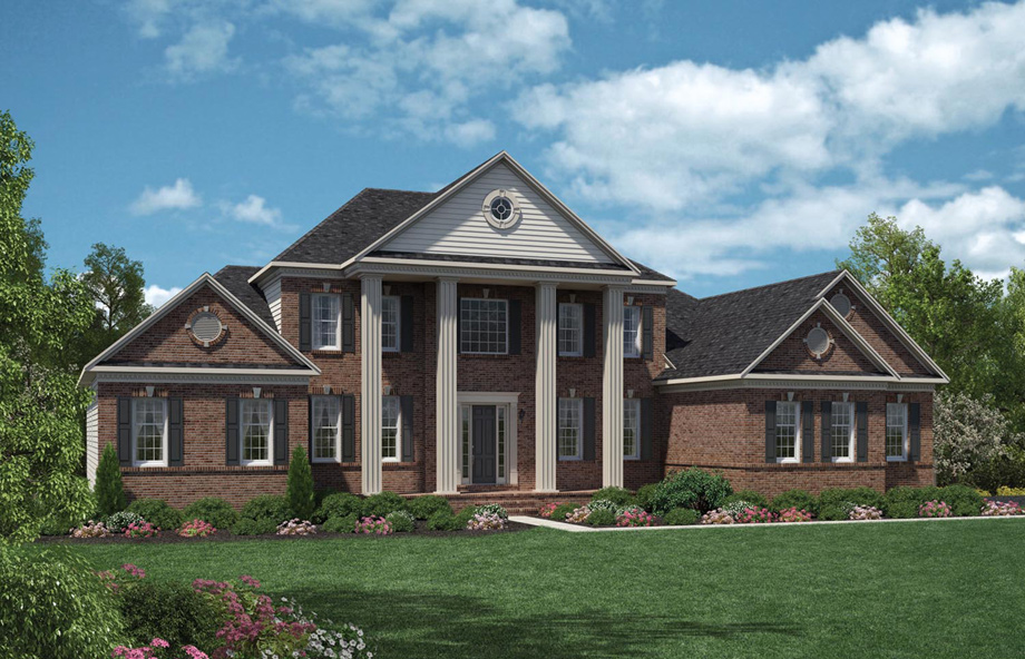 New luxury homes for sale in ellicott city md patuxent for Modern homes for sale in maryland