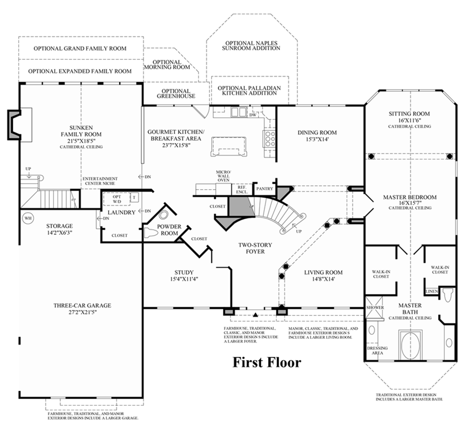Covington Floor Plan Covington Floor Plan Covington Timber