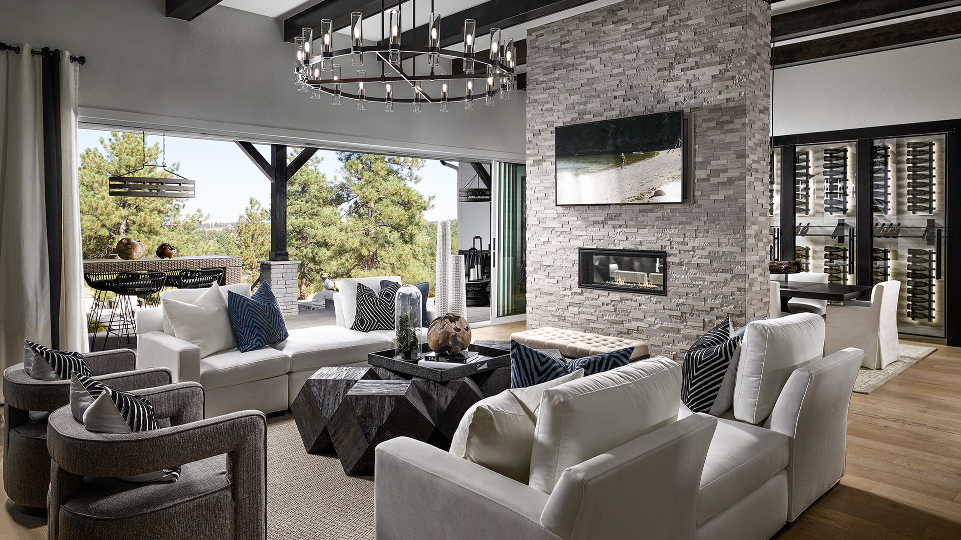 Toll Brothers At The Timbers The Crestone Home Design