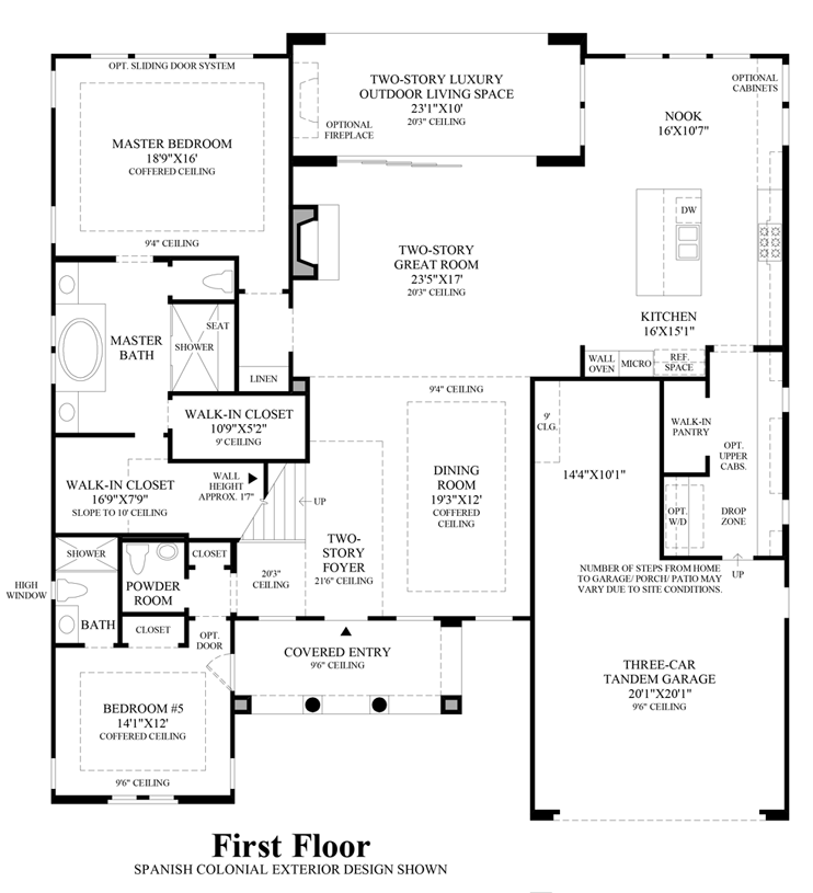 Spanish colonial floor plans for Spanish colonial floor plans