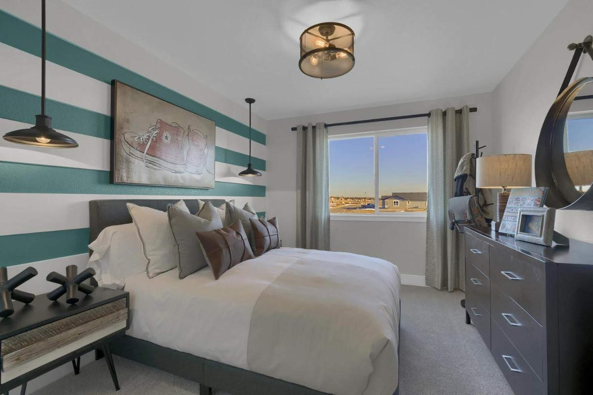 Another spacious upper-level bedroom
