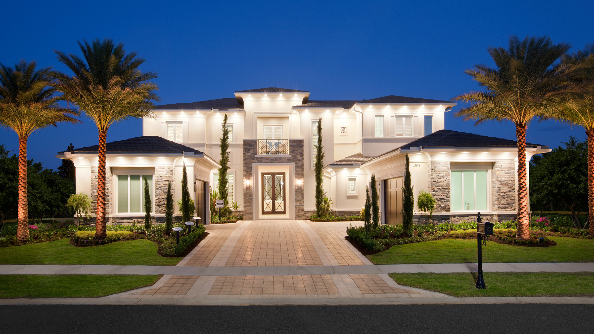 Royal palm polo signature collection the custom homes for Luxury home collection
