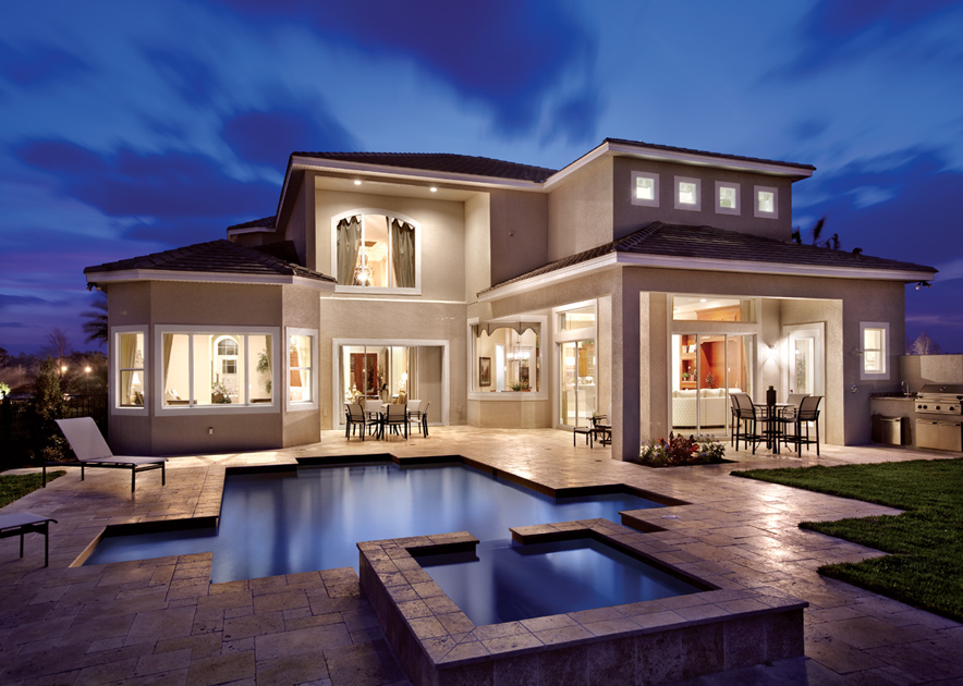 Toll brothers model homes florida