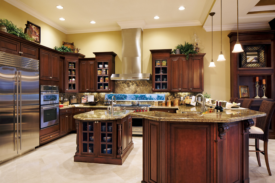 Casabella at windermere the dalenna home design for Gourmet kitchen designs