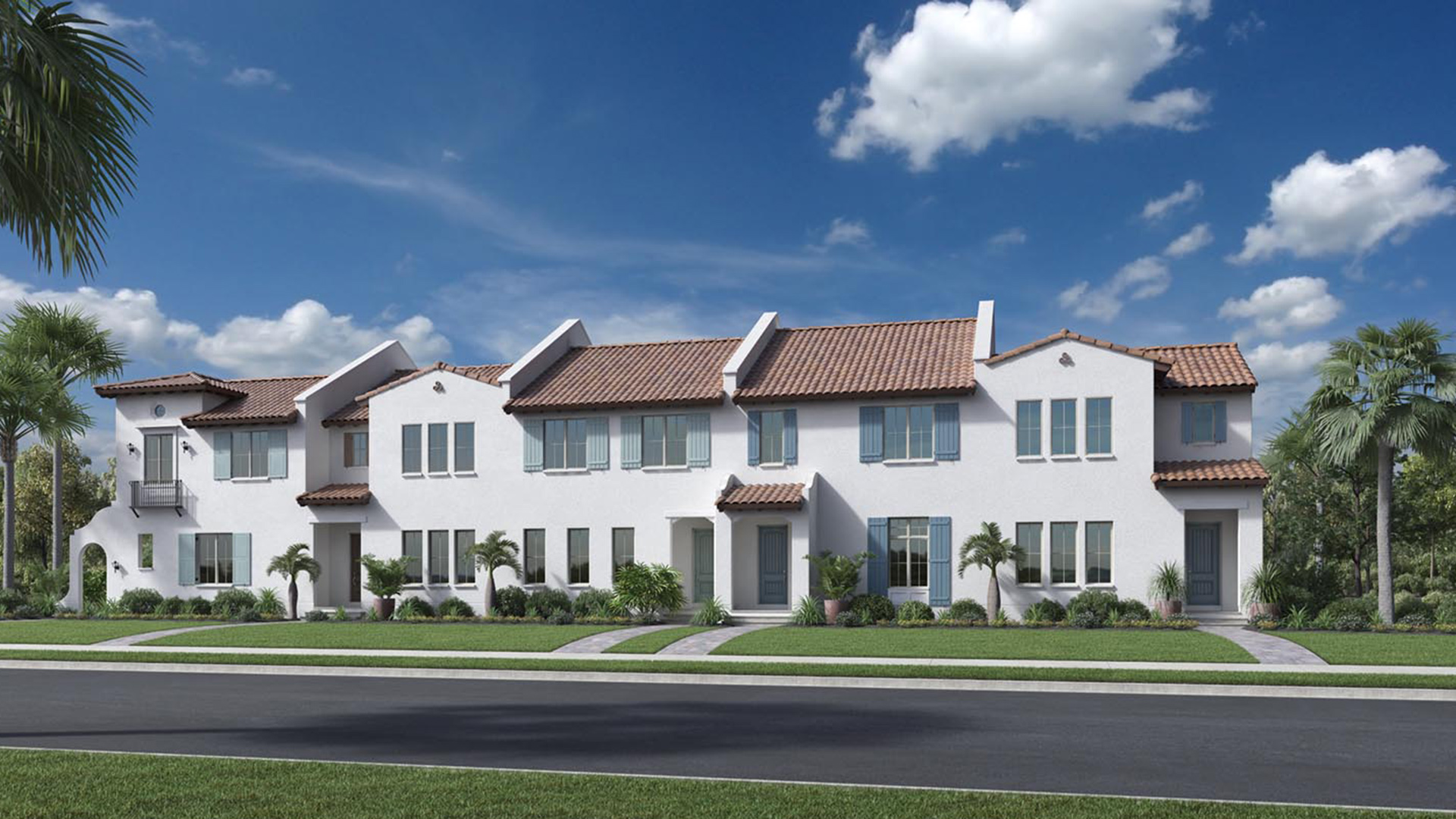 Lakeshore townhomes the dante home design for Lakeshore design builders
