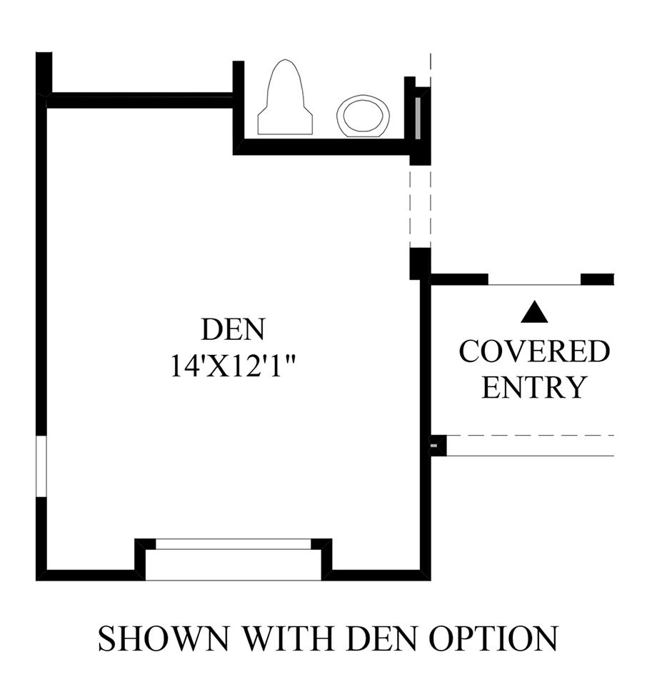 Den Option Floor Plan