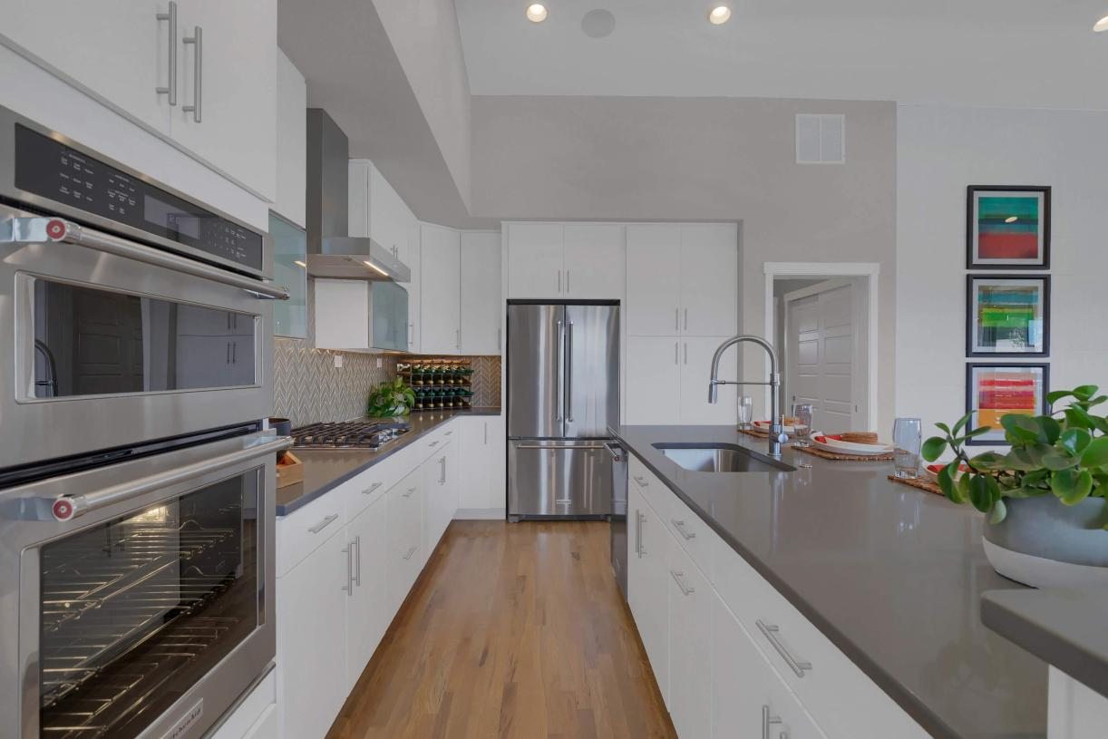 Spacious kitchen with an abundance of cabinetry for a desirable storage