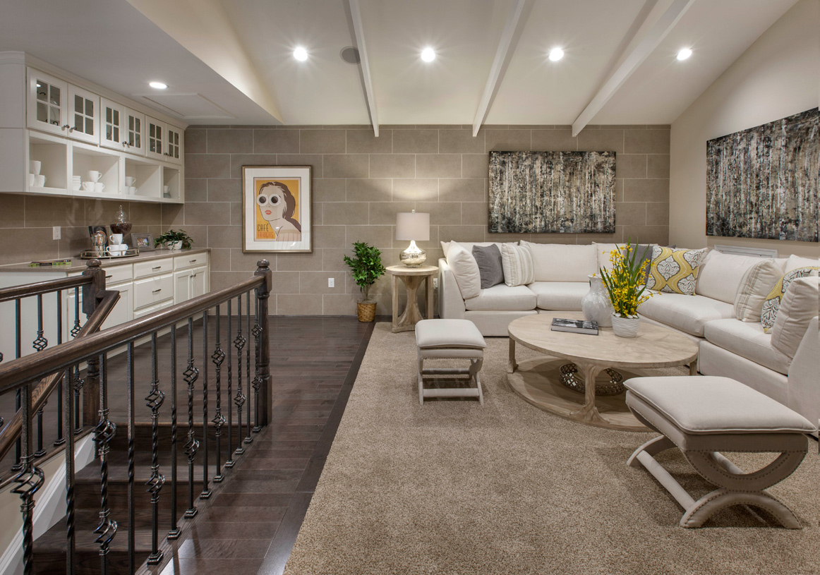 Expansive loft for additional living space