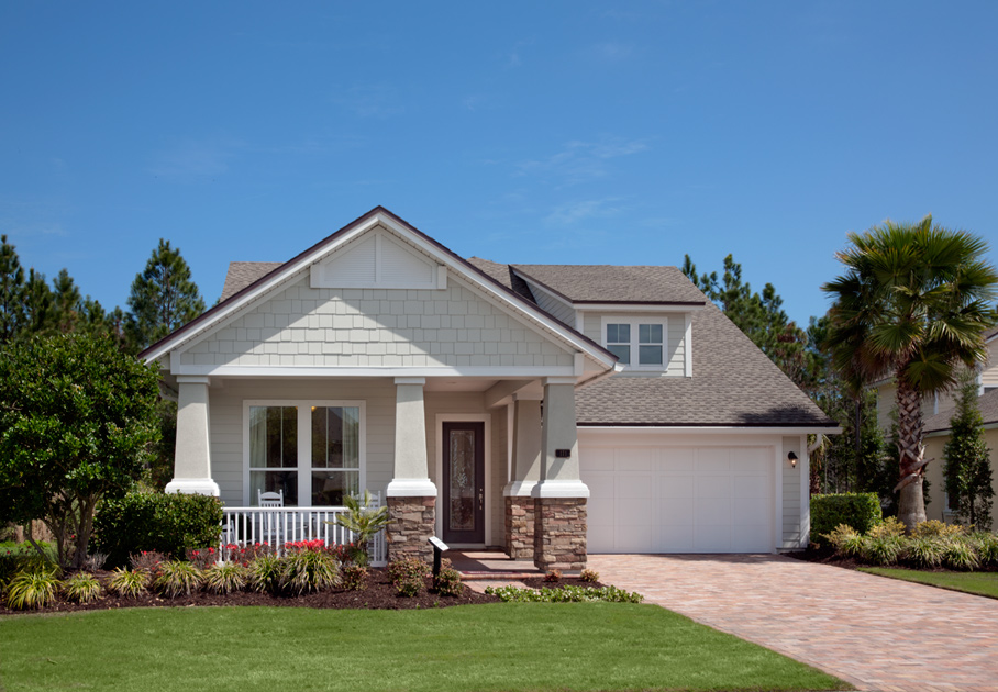 Coastal oaks at nocatee legacy collection the vanwick for Craftsman model homes