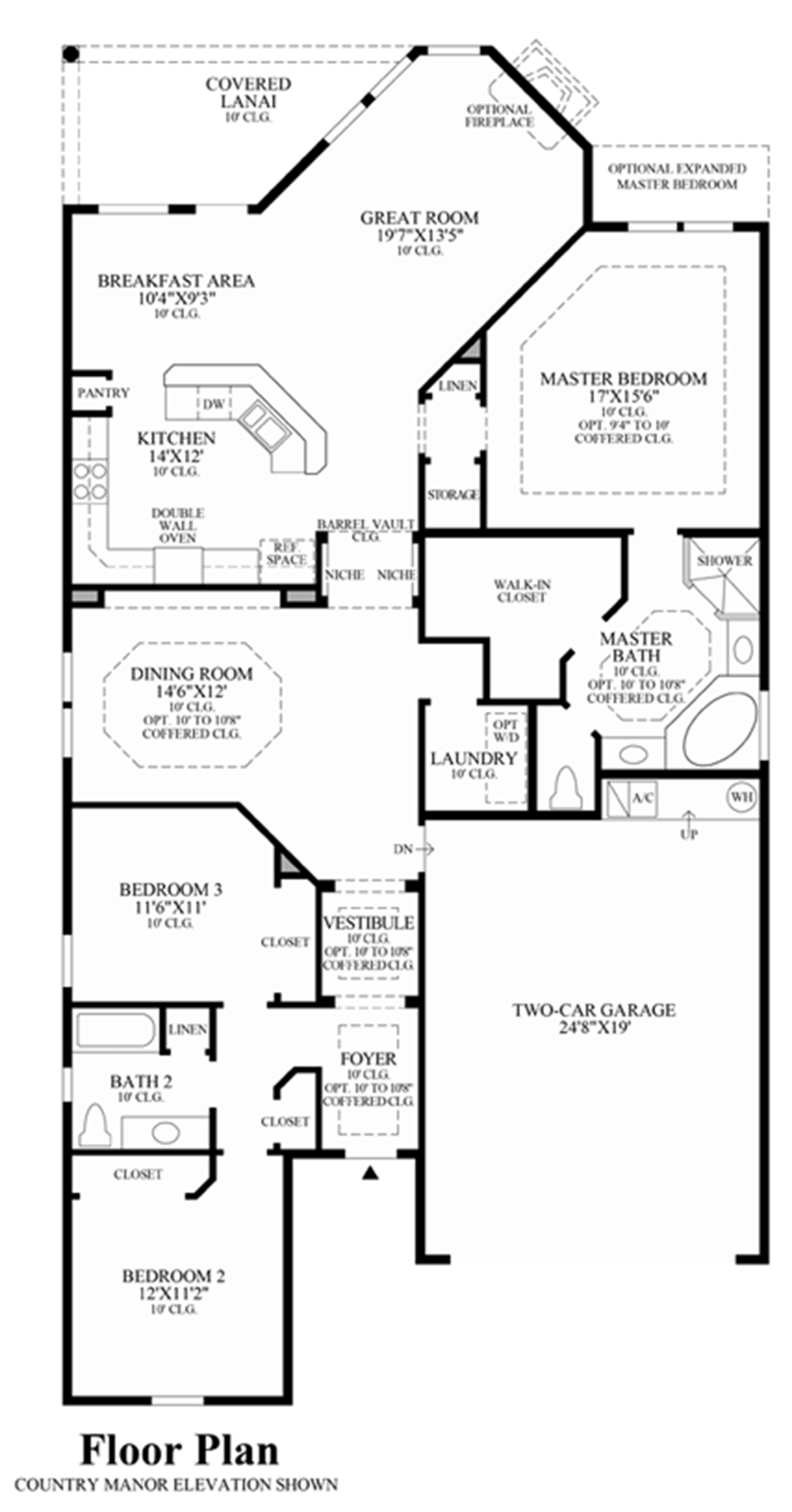 Coastal oaks at nocatee legacy collection the for Legacy homes floor plans