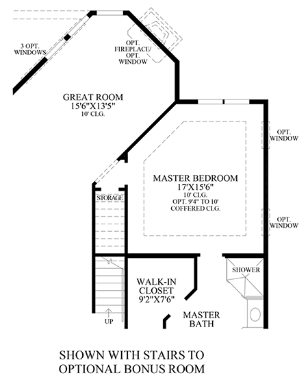 Optional Stairs to Bonus Room