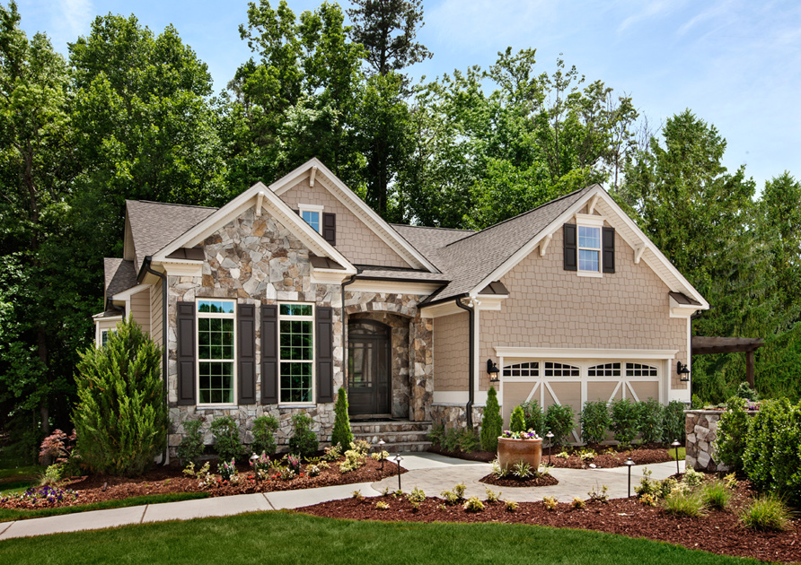 Wake Forest NC New Homes for Sale | Hasentree - Golf Villas Collection