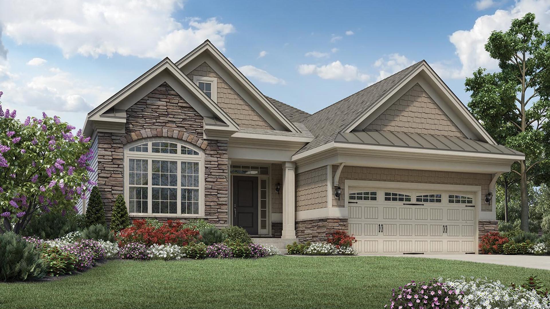 Regency at White Oak Creek | The Deerfield Home Design