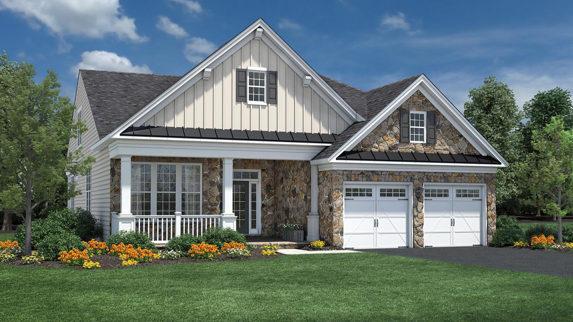 Regency at Creekside - The Potomac Collection | The Deerfield Home