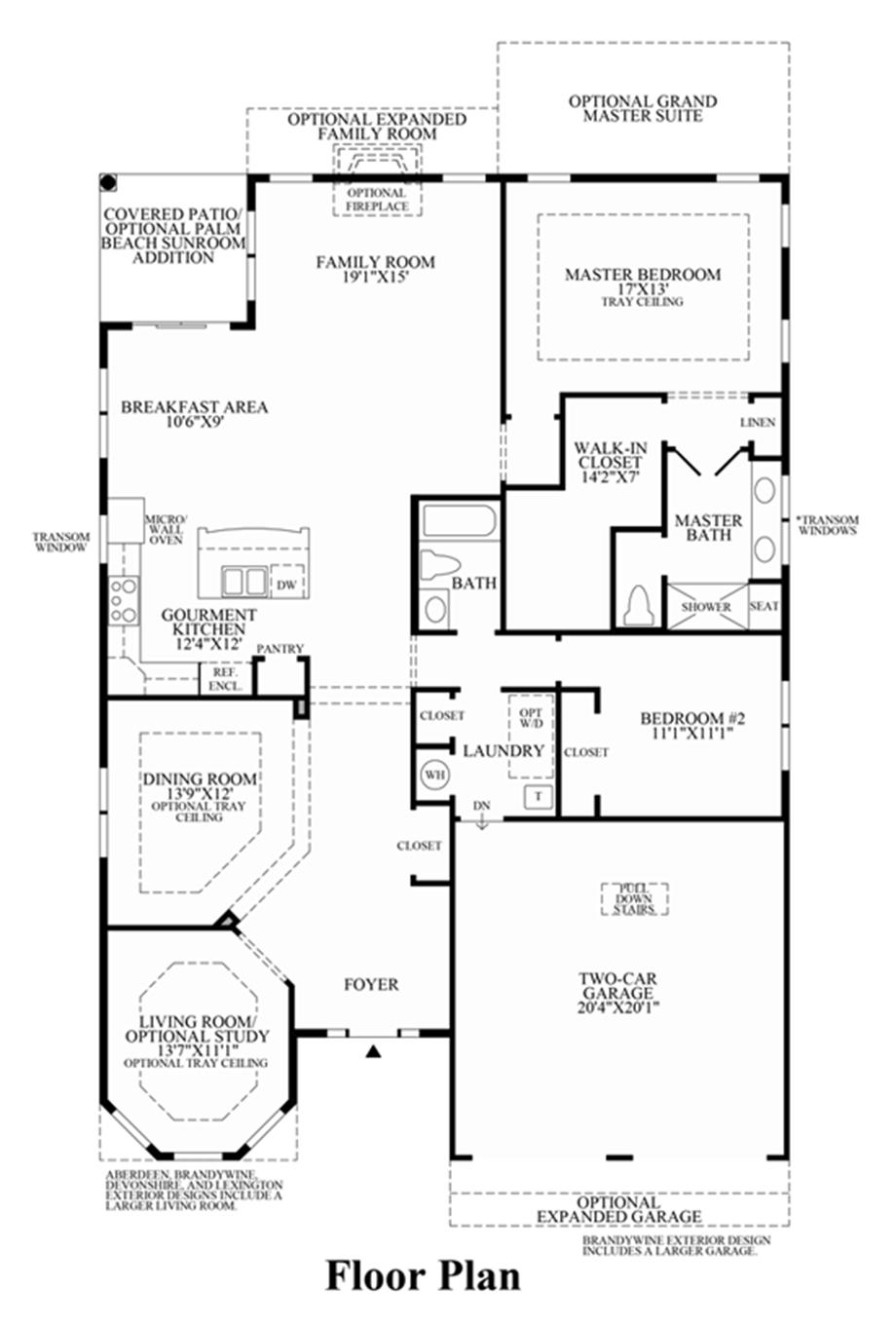 Deerfield Floor Plan