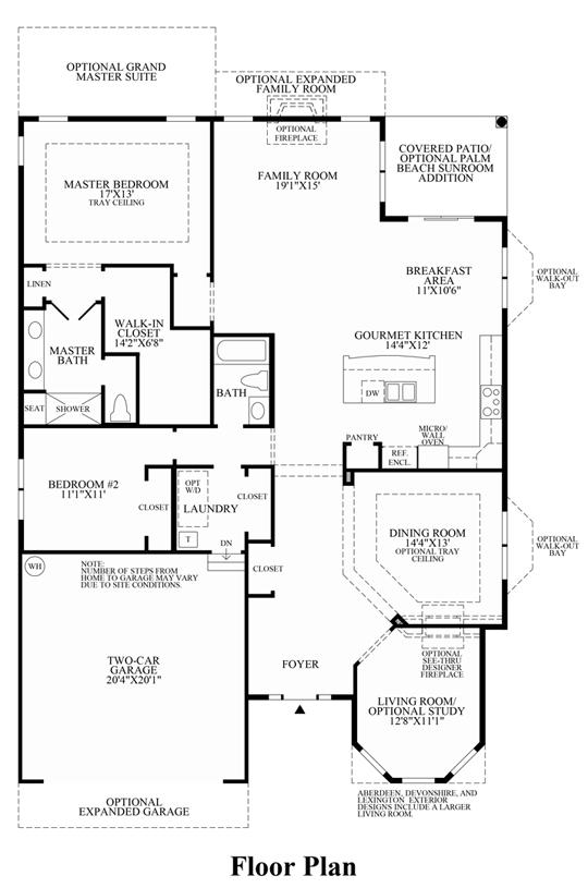 Deerfield - Floor Plan